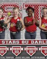 Ruston Dixie Softball Allstars 2019